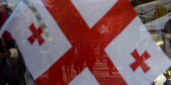 Грузия выдвинула протест Украине из-за вмешательства Саакашвили во внутренние дела страны