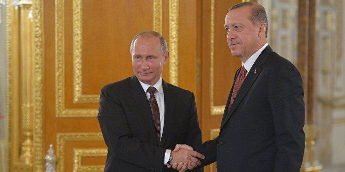 Путин и Эрдоган договорились «нажать на газ» в двусторонних отношениях