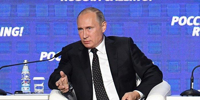 Путин: Я не могу работать вместо Порошенко