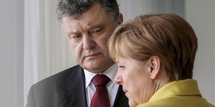 Меркель и Порошенко обсудили проведение встречи «нормандской четверки»