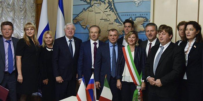 Итальянские компании работают в Крыму интеллигентно