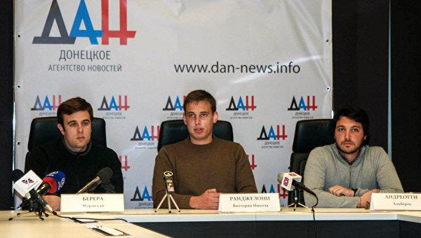 Итальянцы разрушают миф о Донбассе