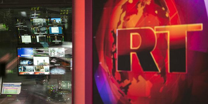 Великобритания заблокировала все счета телеканала Russia Today