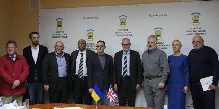 Британские парламентарии посетили Донецкую область