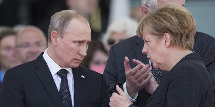 Немецкие СМИ: Визит Путина в Берлин — сенсация