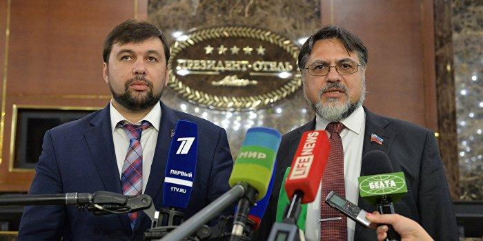 Донецк и Луганск требуют внести важное уточнение в «дорожную карту»