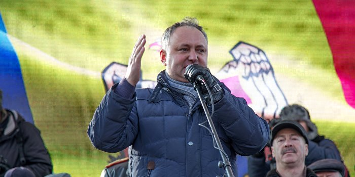 Лидер президентской гонки Молдовы признал Крым российским