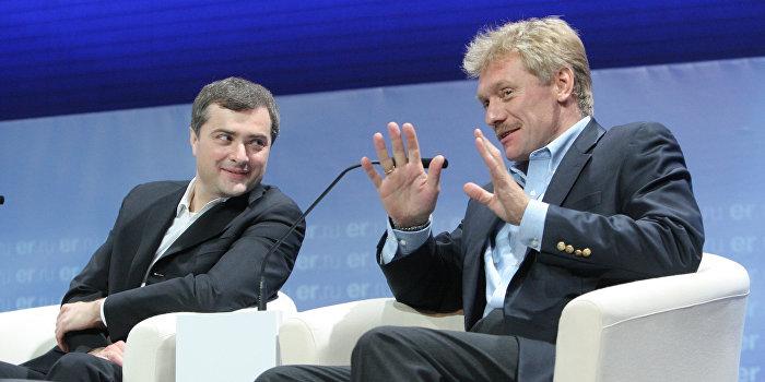 Песков: Сурков не пользуется электронной почтой вообще