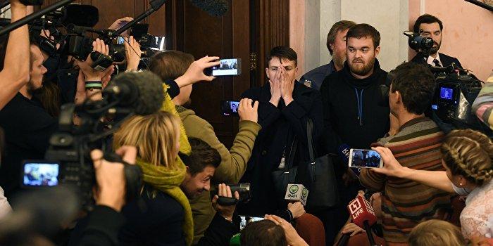 Клых назвал визит Савченко в Москву пиаром