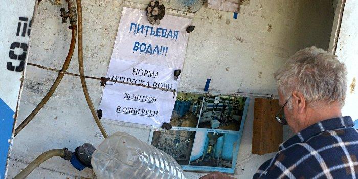 Донецкая фильтровальная станция может возобновить работу в ближайшее время