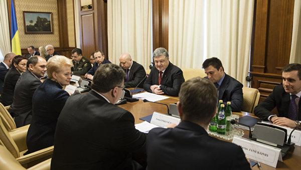 Литва поддержала идею антироссийской коалиции