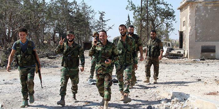 Освобождение: сирийская армия начала зачистку последнего оплота террористов в Алеппо