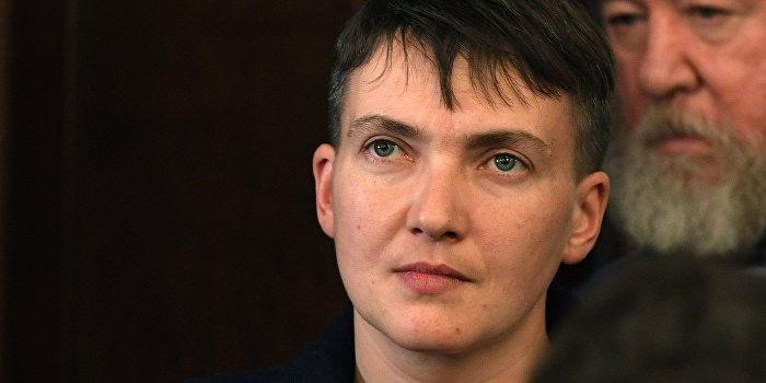 Пресс-секретарь: Савченко исключают за правду