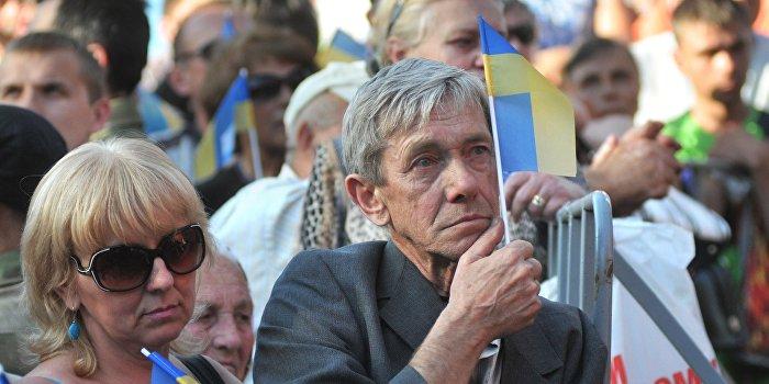 Нищая Украина будет слушать популистов
