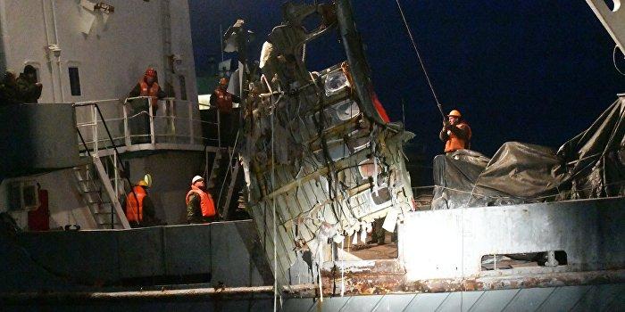 Спасательные плоты судна «Восток» оказались пустыми