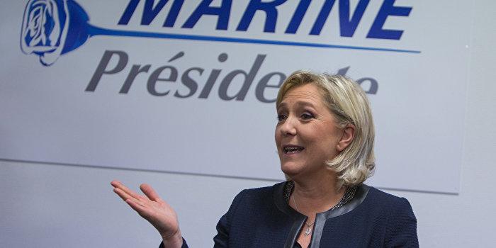 Трамп назвал Ле Пен самым сильным кандидатом в президенты Франции