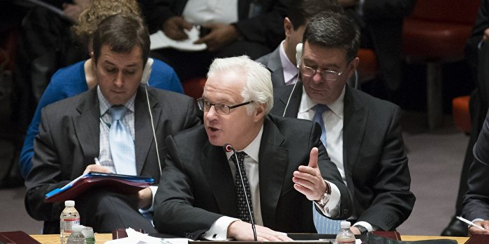 Виталий Чуркин: Россия будет оказывать помощь тем, кто в ней нуждается