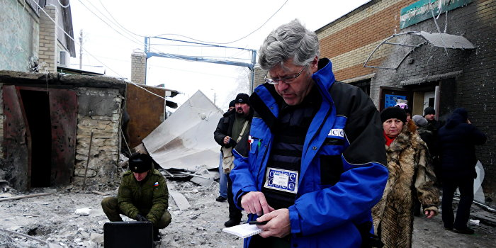 ОБСЕ: Авдеевка без воды из-за того, что Киев продолжает обстрелы