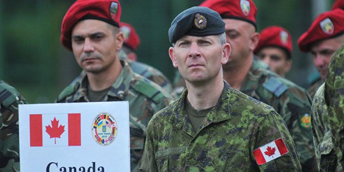 Посольство России осудило Канаду за военную помощь Украине
