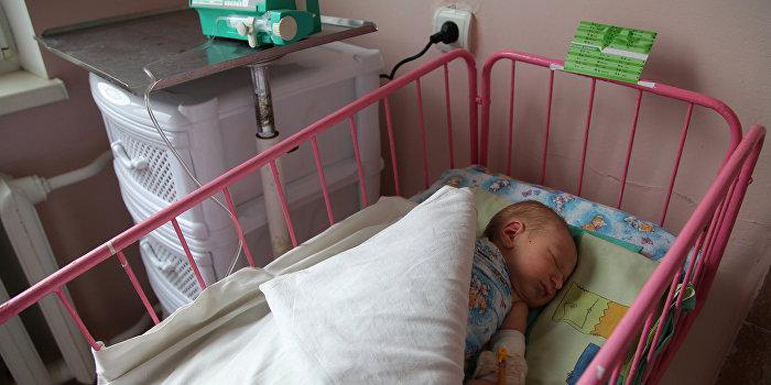 Украина лидирует в Европе по смертности младенцев