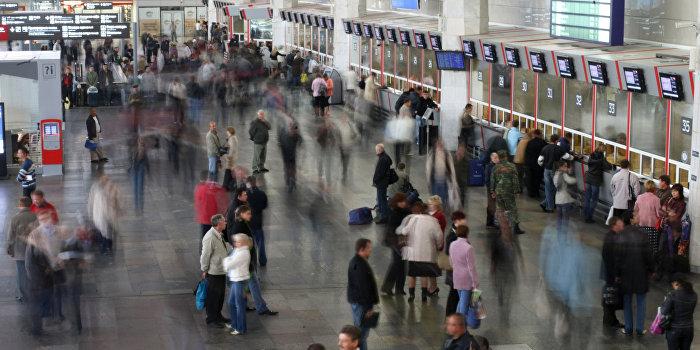 На Курском вокзале ищут бомбу в поезде с Украины