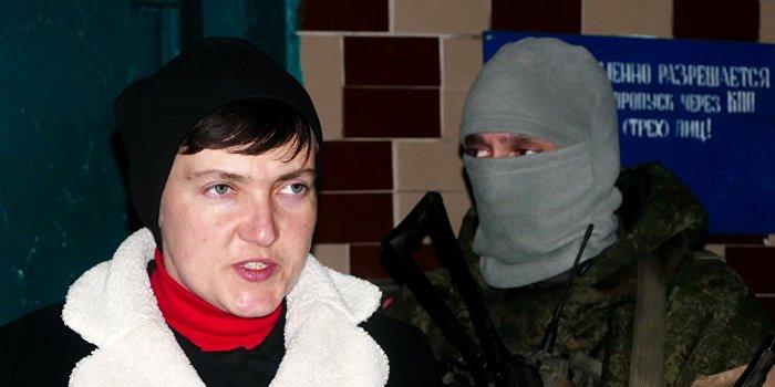 СБУ повторно допросила Савченко из-за визита в ДНР