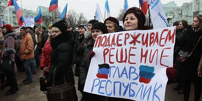 Олейник: Украина и Донбасс нужны друг другу, но не киевскому режиму