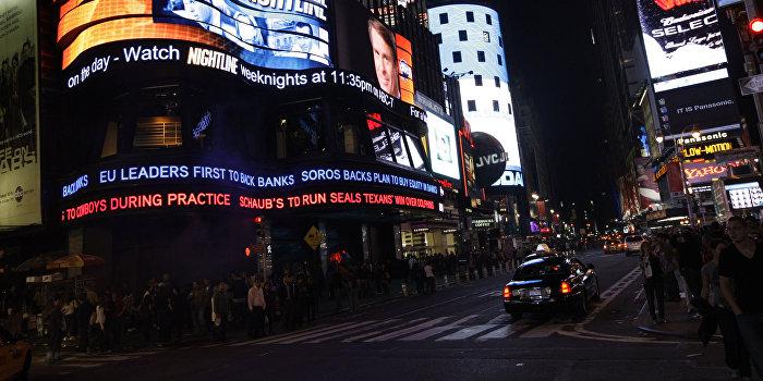 В Нью-Йорке на Бродвее прогремел мощный взрыв