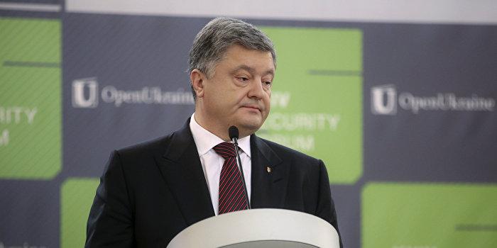 Золотарев: Порошенко теряет внешнюю поддержку и украинских граждан