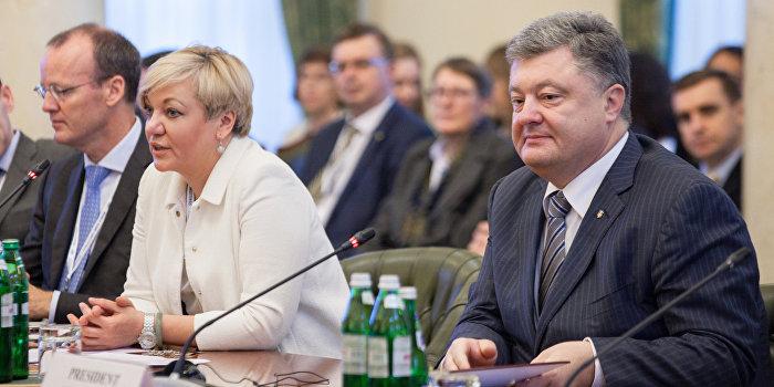 Источник: Гонтарева подала Порошенко заявление об отставке