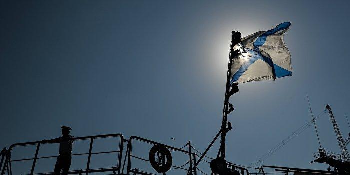 В Севастополе подняли флаг на новейшем военном катере