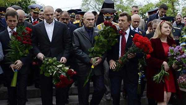 До и после Майдана: как Одесса праздновала годовщину освобождения от фашистов