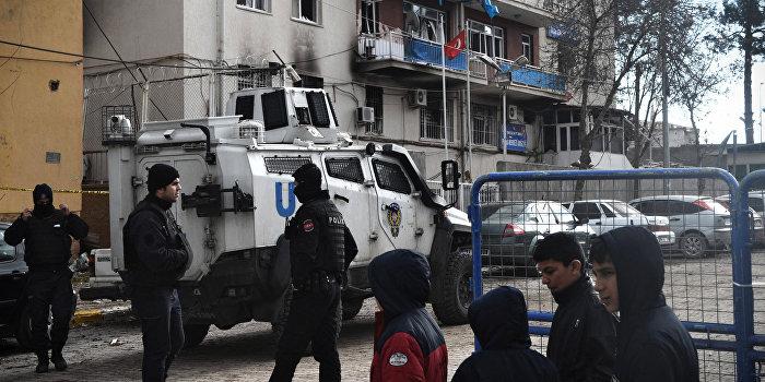 В Турции прогремел мощный взрыв