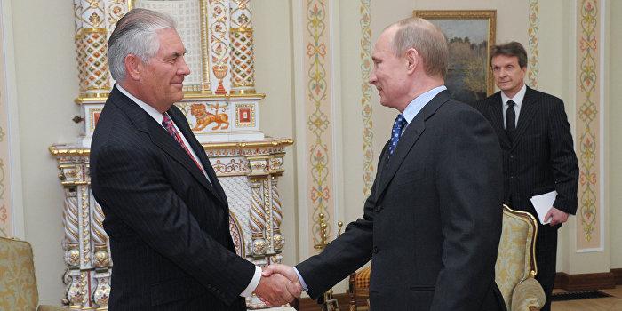 Госдеп: Путин и Тиллерсон признали низкий уровень доверия между Россией и США