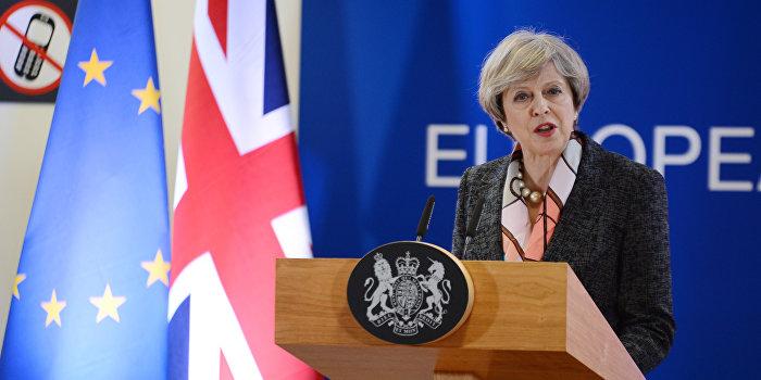 Тереза Мэй объявила о проведении досрочных парламентских выборов в Великобритании