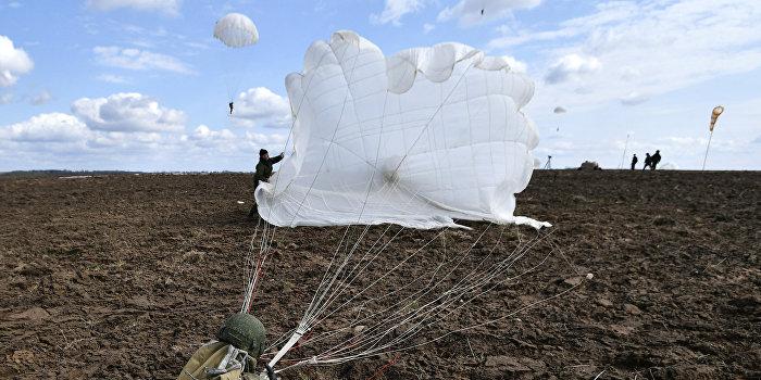Херсонским десантникам выдали опасные для использования парашюты