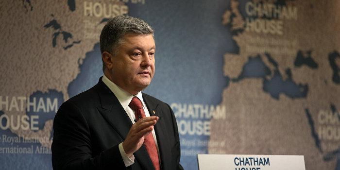 Порошенко: В Донбассе идет горячая война