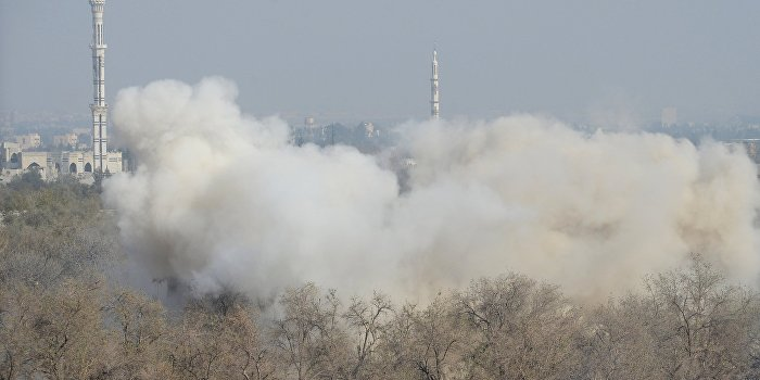 СМИ: Израиль уничтожил склад оружия «Хезболлы» в Дамаске