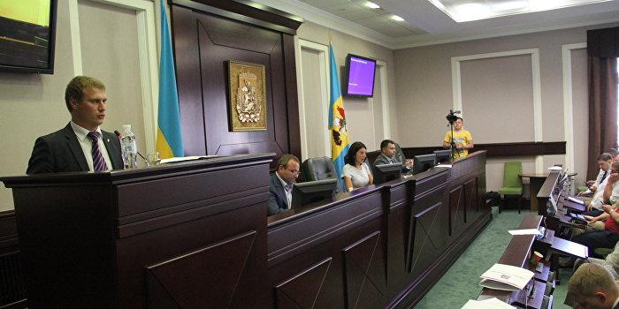 В Киевском областном совете депутаты выступили за права регионов