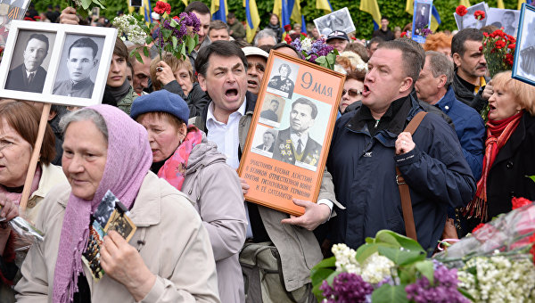 День Победы на Украине: «Жри, Бандера!»