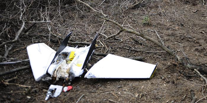 ЛНР: Ополченцы сбили украинский беспилотник, снимавший машины ОБСЕ