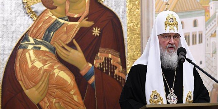 Патриарх Кирилл призвал мир предотвратить принятие на Украине антицерковных законов