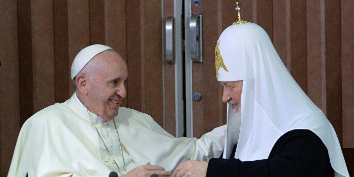 «Взгляд»: Для Ватикана Москва явно ценнее Украины