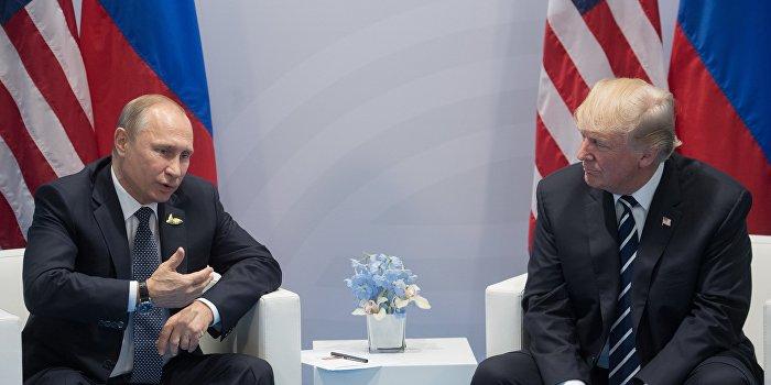 Путин рассказал Трампу о несправедливости санкций и ограничений