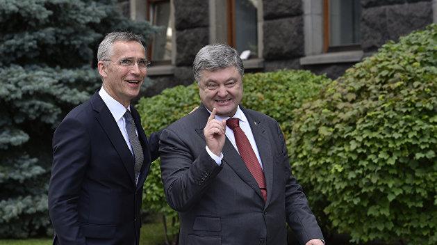 В Кремле рассказали, как план Украины вступить в НАТО связан с Россией