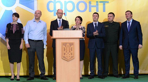 «Народный фронт»: у нас кентов в Госдепе нет