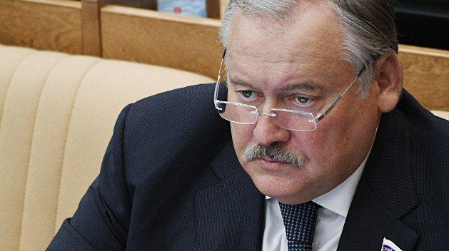 Затулин назвал условие признания Москвой республик Донбасса