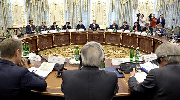 В Киеве сорвано итоговое заявление саммита Украина-ЕС