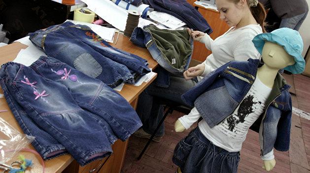 На Украине могут запретить продавать джинсы Gloria Jeans