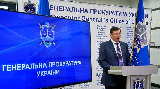 Луценко, бегущий с корабля на запасной аэродром, может переформировать политику
